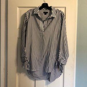 J. Crew Universal Standard striped tunic